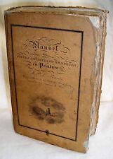 BOUVIER. MANUEL DES JEUNES ARTISTES ET AMATEURS EN PEINTURE EO 1827 7 PLANCHES