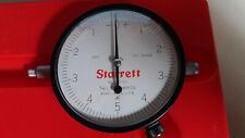 """STARRETT 655-111J Dial Indicator, .0001"""", .025"""" Range"""