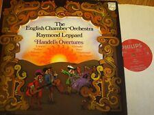 6599 053 Handel Overtures / Leppard / ECO