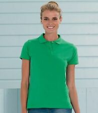 Collared Patternless Polo Casual Tops & Shirts for Women