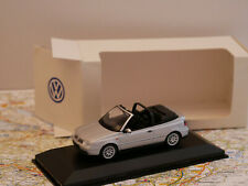 MINICHAMPS VW GOLF SILVER DEALERS EDITION NEW 1:43