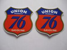 Sticker Autocollant UNION Gasoline Bike huile oil Motorcross Racing Autocross Race 76