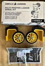 Gorilla Ladders Wheel Kit For Gorilla Glmpxa Multiposition Ladders