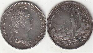 Jeton argent Louis XV Jurez vendeurs de volailles