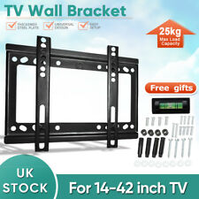 TV Wall Bracket Mount Swivel Tilt 14 16 21 23 26 32 42inch Flat LED LCD Monitor
