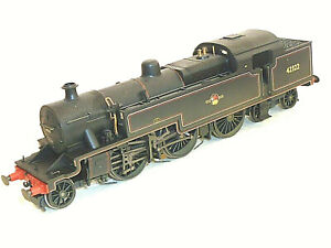 Hornby R2287 BR Black 4P Weathered 2-6-4T Locomotive Tested Boxed Superb 00 OO