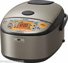 Zojirushi NP-HCC10XH Induction Heating System Rice Cooker and Warmer, 5.5 CUP