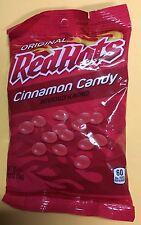 Original RED HOTS Cinnamon Candy Nostalgic Retro-Vintage Candy 5.5 oz Bag Fresh