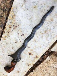 Antique DAMASCUS Keris Kris Batak Barong Dayak Sword