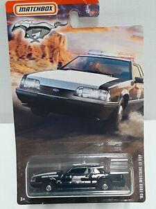 Matchbox Mustang Series . 93  ' Ford Mustang Lx Ssp  Neuf en boite.
