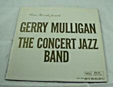 GERRY MULLIGAN THE CONCERT JAZZ BAND VERVE RECORDS 1960 VINYL LP PRE-OWNED