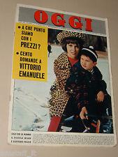 OGGI=1964/11=GINA LOLLOBRIGIDA COVER=EBOLI=MARANO=DELITTO BITTER=JANE FONDA=