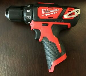 "Milwaukee 2407-20 NEW M12 12V Li-Ion Cordless 3/8"" Drill/Driver ~ Bare Tool ~"