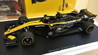 SPARK 7711940355 RENAULT RS18 F1 model Launch car 2018 Hulkenberg / Sainz 1:18th
