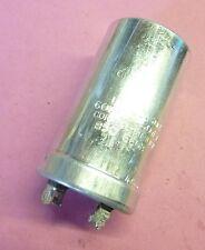 Condensateur spraque 60µf 450 volts