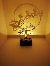 LED Tischleuchte Shadow Weihnachten Lampe Nikolaus Projektion Schatten kabellos