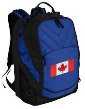 Canada Flag Backpack Laptop Bags Canadian Flag Computer Backpacks