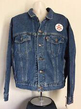 Vtg 1993 Nwt Levis Loose Fit Denim Jacket Blue L 90s Jean Trucker Levi's