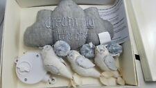 Pottery Barn Kids Baby Nursery Dream Big Little One Mobile Twinkle Clouds #2433