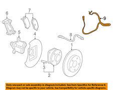Buick GM OEM 12-16 LaCrosse-ABS Wheel Speed Sensor Right 23483156
