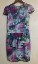 Regular Floral Peplum Dresses for Women