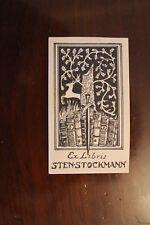 ✒ EX LIBRIS Sten Stockmann