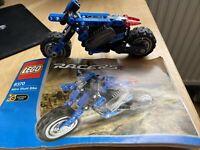 Lego Nitro Stunt Bike 8370 Technics Racers - 2003 Complete With Instructions