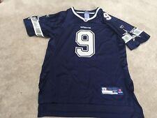 Dallas COWBOYS :# 9 TONY ROMO: Navy Blue Mesh Jersey Youth XL 18-20
