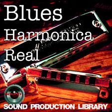 Blues Harmonica Real - Large, very useful original WAVE/NKI Loops Library on DVD