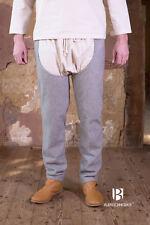 Medieval Leg Warmers Bernulf Wool/ Larp - Grey By Burgschneider