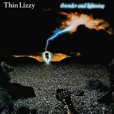 Thin Lizzy-Thunder And Lightning LP Sticker or Magnet