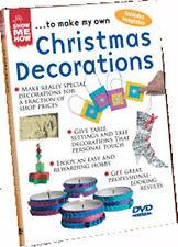 DVD:SHOW ME HOW - CHRISTMAS DECORATIONS - NEW Region 2 UK