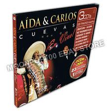2CD+DVD Aida y Carlos Cuevas En Vivo Especial Edicion NEW & ORIGINAL