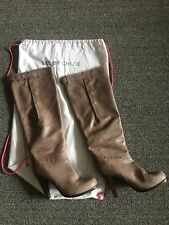 See By Chloe Leather Knee High Boots Size 39