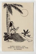 ALOHA: Hawaii USA postcard (C23931)