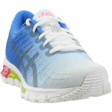 ASICS Gel-Quantum 180 4 Running Shoes  Casual Running  Shoes Blue Womens - Size