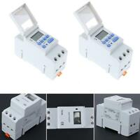 AC 220-240V Digital LCD DIN Programmable Weekly Rail Timer Time Relay Switch