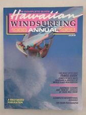 Hawaiian Windsurfing Guide - The Complete Guide 1988-1989 - English text