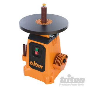 Triton TSPS370 Profi-Spindelschleifmaschine mit Schwenktisch & Oszillation 350 W