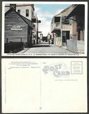Old Florida Postcard - St. Augustine - Oldest Frame House in USA
