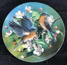 Knowles Encyclopaedia Britannica Birds of Your Garden The Bluebird