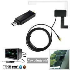 Car Digital DAB+Audio Radio Receiver Tuner+Antenna USB Adapter for Android APP