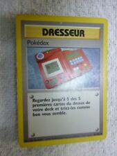 Carte pokémon dresseur pokédex 87/102 peu commune set de base