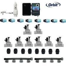 kit irrigazione Orbit 8 stazioni zone con centralina programmatore per esterno