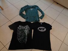 (3) LADIES size M/L New York JETS GRAPHIC shirts REEBOK