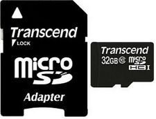 Transcend Micro SDHC 32GB MicroSDHC Class 10 200X 30MB/s Flash Memory Card ct