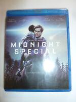 Midnight Special Blu-ray movie acclaimed sci-fi thriller Kirsten Dunst 2016 NEW!