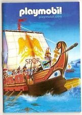 2006 Playmobil ROMAN GALLEY COVER BOOKLET / CATALOG - 43 pages - Brand new! 4276