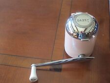 Retro Pink Chrome Dazey Ice Crusher Grinder Course and Fine
