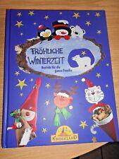 Bastelbuch Weihnachten- Fröhliche Winterzeit f. d. ganze F - Weihnachtsdeko -NEU